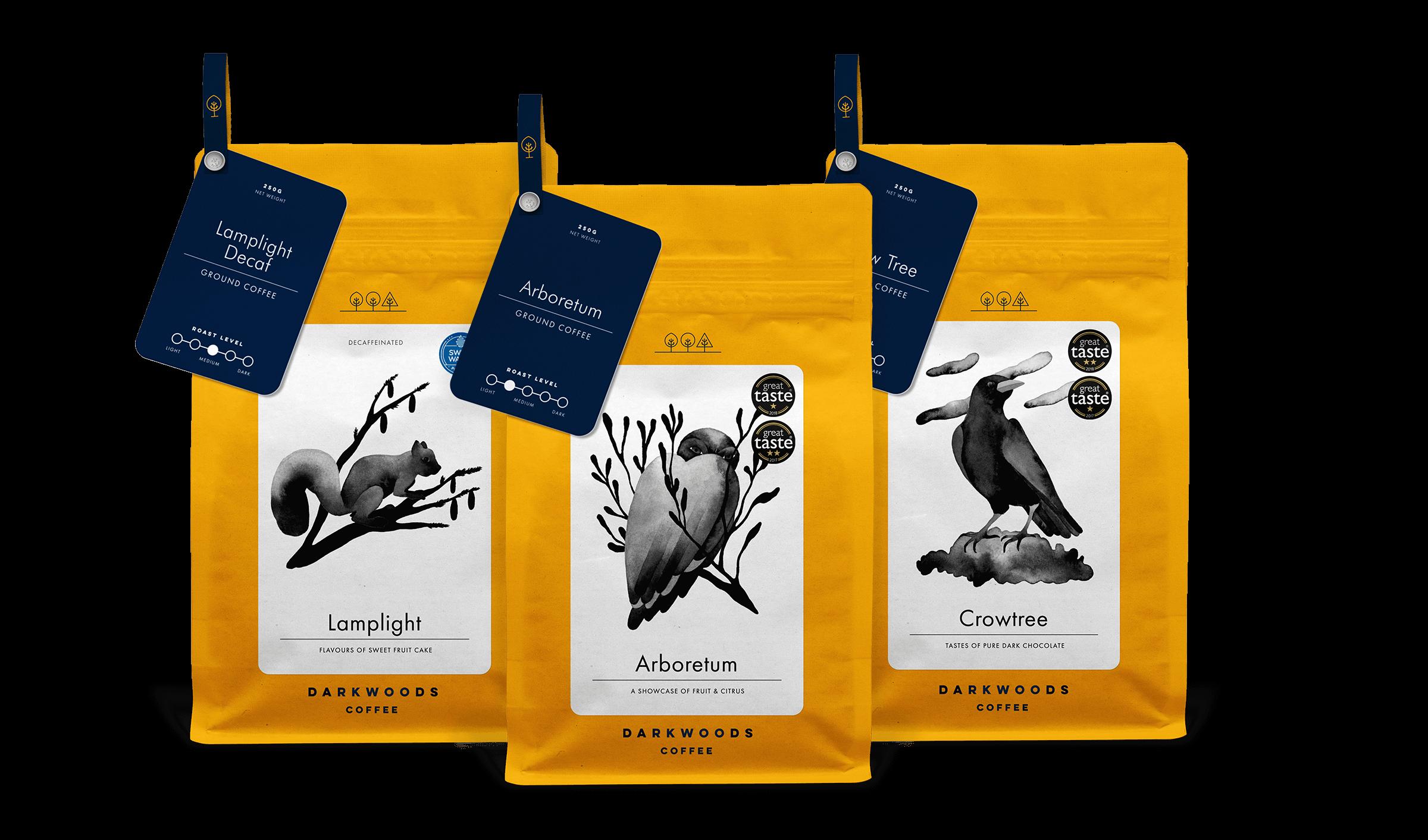 Specialty Wholesale Coffee Roaster Dark Woods Coffee